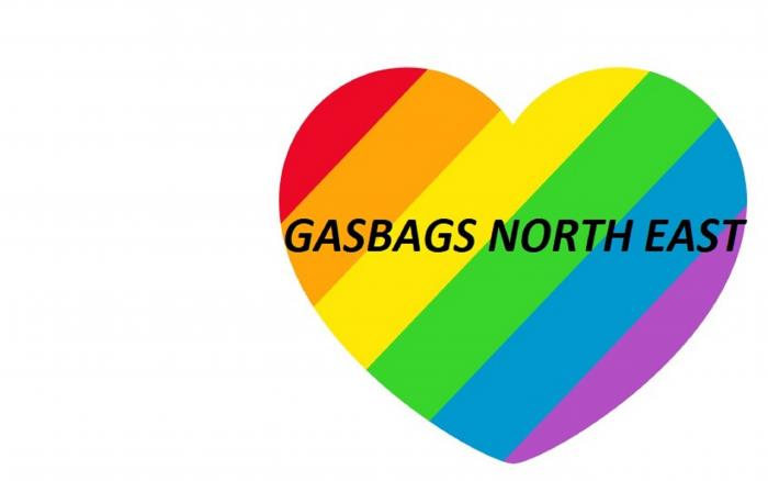 This is Gasbags North East logo