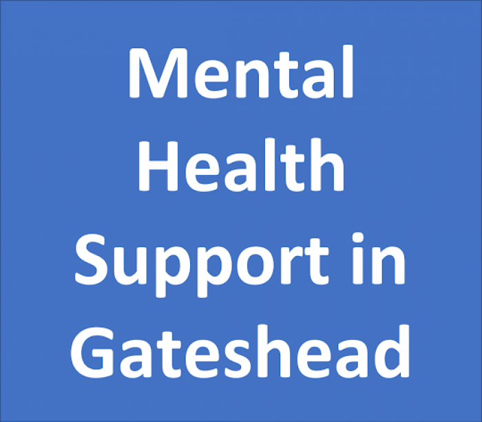 Mental Health support in Gateshead
