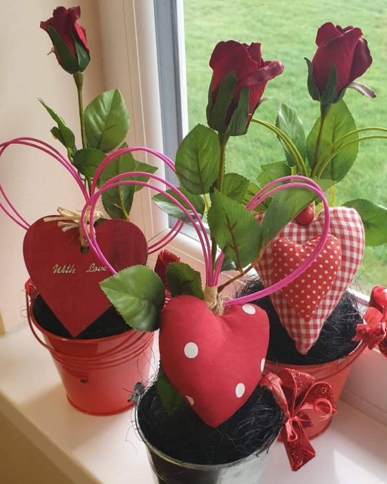 Valentine's Crafts at TBCC