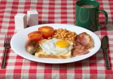 photo of a cooked breakfast