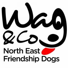 Wag & Company North East Friendship Dogs Logo