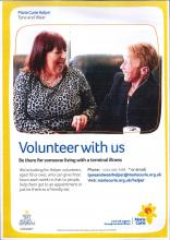 Marie Curie Helper volunteer service