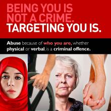 Report hate crime Gateshead