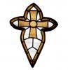 St Marys stained glass window logo