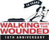 Walking with the wounded logo